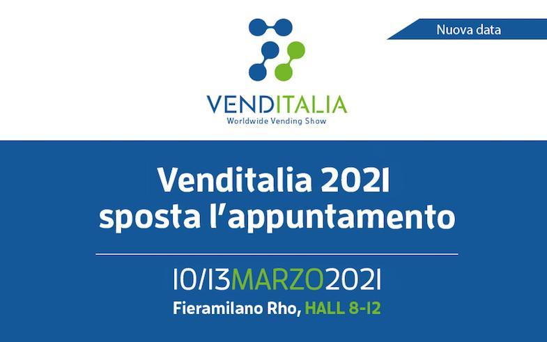 Venditalia 2021 aggiorna le date. RiVending sarà protagonista