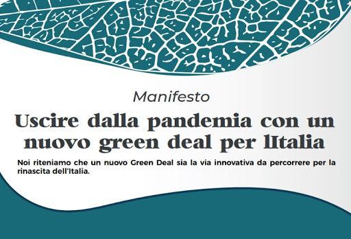 Uscire dalla pandemia con un nuovo Green Deal per l'Italia