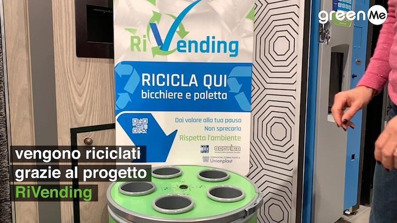 """La """"pausa sostenibile"""" con RiVending sul portale greenMe"""
