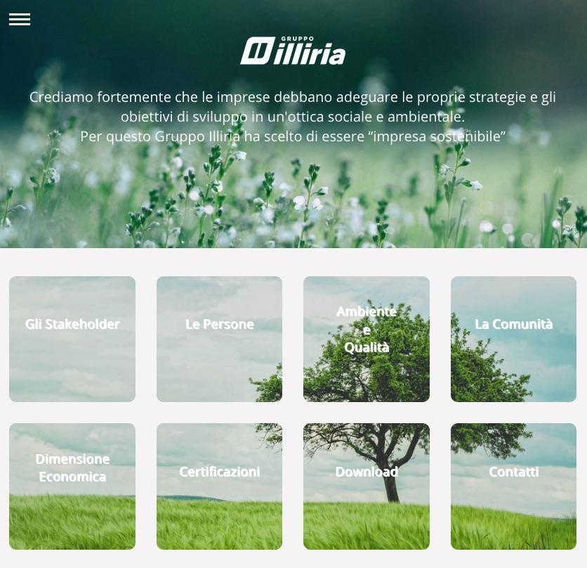 Rivending nel report di sostenibilità di Gruppo Illiria