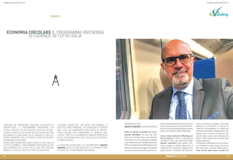 Intervista a Marco Sandro, COO Rivending