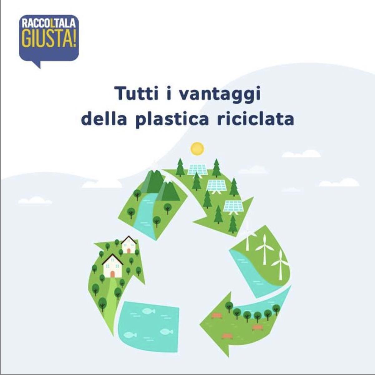 Meglio della plastica, è la plastica riciclata