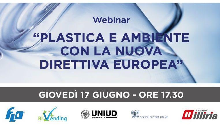 Webinar > Plastica e ambiente con la nuova direttiva europea